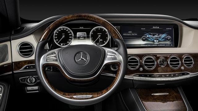 Nội thất sang chảnh của Mercedes-Benz S-Class 2018 gián tiếp được hé lộ - Ảnh 2.