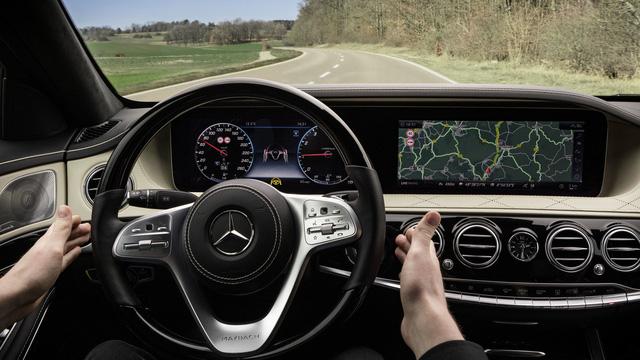 Nội thất sang chảnh của Mercedes-Benz S-Class 2018 gián tiếp được hé lộ - Ảnh 3.