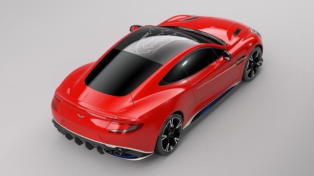 Aston Martin Vanquish S Red Arrows - Xe sang chỉ dành cho ít người - Ảnh 4.
