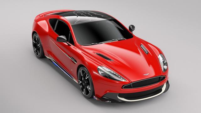 Aston Martin Vanquish S Red Arrows - Xe sang chỉ dành cho ít người - Ảnh 6.