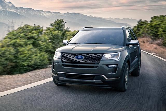 Ford Explorer 2018 trình làng, tiện nghi và an toàn hơn - Ảnh 1.