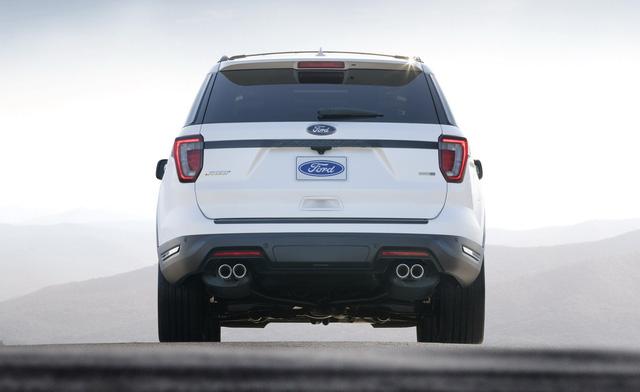 Ford Explorer 2018 trình làng, tiện nghi và an toàn hơn - Ảnh 2.