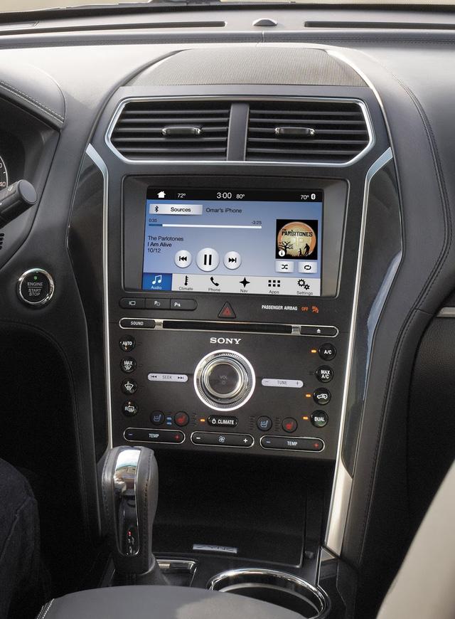 Ford Explorer 2018 trình làng, tiện nghi và an toàn hơn - Ảnh 4.