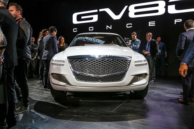 Genesis GV80 - SUV cao cấp cỡ lớn đến từ Hàn Quốc - Ảnh 3.
