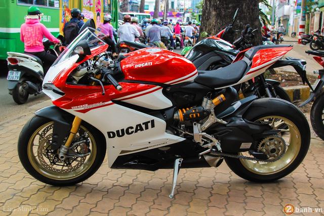 Cận cảnh siêu mô tô Ducati 1299 Panigale S Anniversario đầu tiên tại Việt Nam - Ảnh 3.