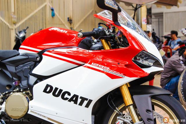 Cận cảnh siêu mô tô Ducati 1299 Panigale S Anniversario đầu tiên tại Việt Nam - Ảnh 4.
