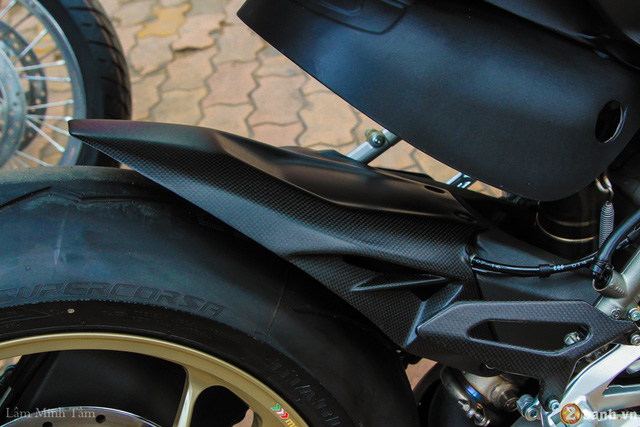 Cận cảnh siêu mô tô Ducati 1299 Panigale S Anniversario đầu tiên tại Việt Nam - Ảnh 6.