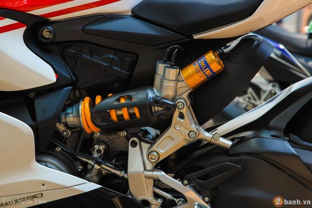 Cận cảnh siêu mô tô Ducati 1299 Panigale S Anniversario đầu tiên tại Việt Nam - Ảnh 7.