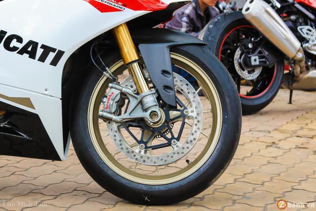 Cận cảnh siêu mô tô Ducati 1299 Panigale S Anniversario đầu tiên tại Việt Nam - Ảnh 9.
