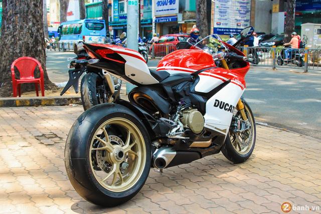 Cận cảnh siêu mô tô Ducati 1299 Panigale S Anniversario đầu tiên tại Việt Nam - Ảnh 10.