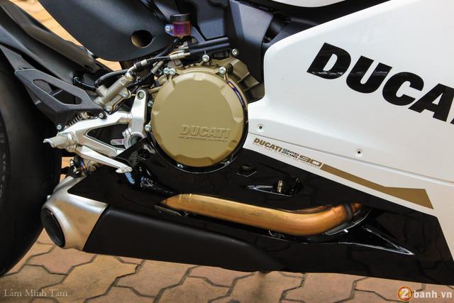 Cận cảnh siêu mô tô Ducati 1299 Panigale S Anniversario đầu tiên tại Việt Nam - Ảnh 11.
