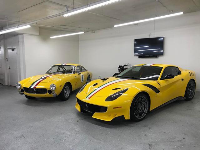 Cận cảnh siêu xe Ferrari F12tdf có một không hai của ông chủ hãng trang sức - Ảnh 11.