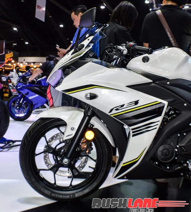 Cận cảnh Yamaha R3 2017 màu trắng và đen nhám mới tại Đông Nam Á - Ảnh 7.