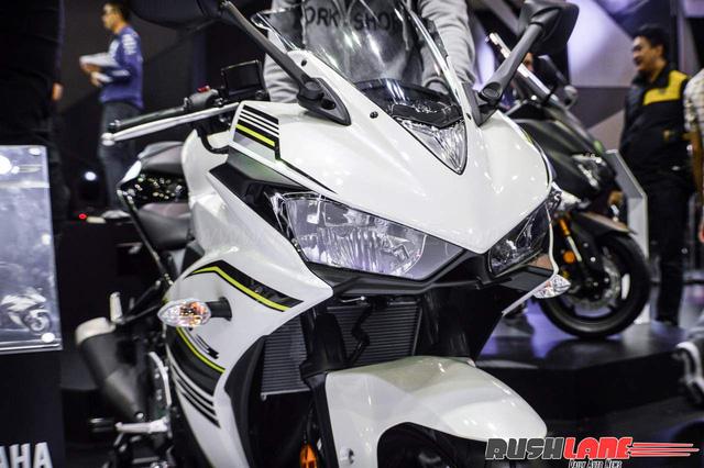 Cận cảnh Yamaha R3 2017 màu trắng và đen nhám mới tại Đông Nam Á - Ảnh 12.