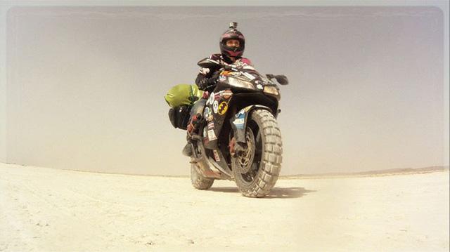 Làm quen với cô gái một mình đi vòng quanh thế giới bằng Honda CBR600RR - Ảnh 5.