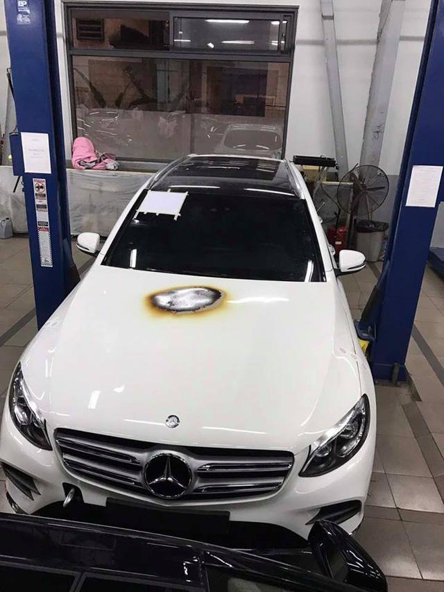 Mercedes-Benz Việt Nam nói gì về vụ khoang động cơ của GLC300 bốc cháy? - Ảnh 4.