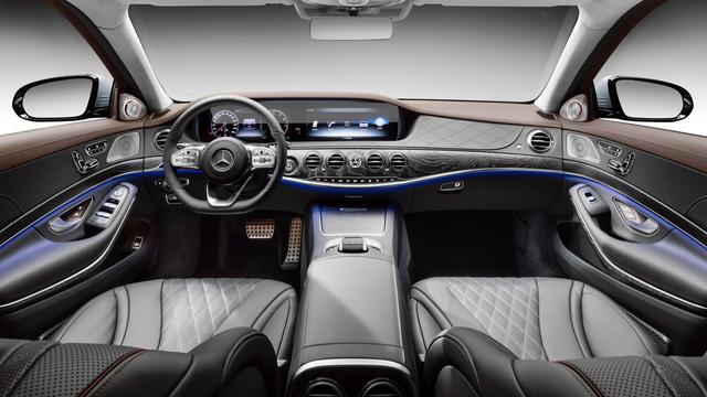 Sedan hạng sang cỡ lớn Mercedes-Benz S-Class 2018 chính thức trình làng - Ảnh 7.
