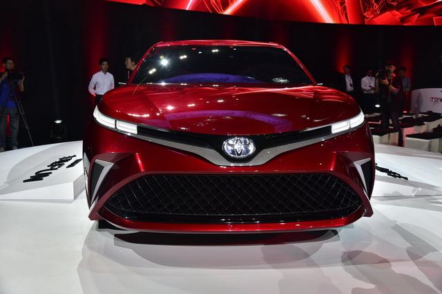 Đây là hình ảnh xem trước của Toyota Camry 2018 cho châu Á - Ảnh 3.