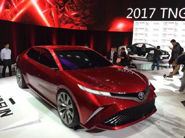 Đây là hình ảnh xem trước của Toyota Camry 2018 cho châu Á - Ảnh 4.
