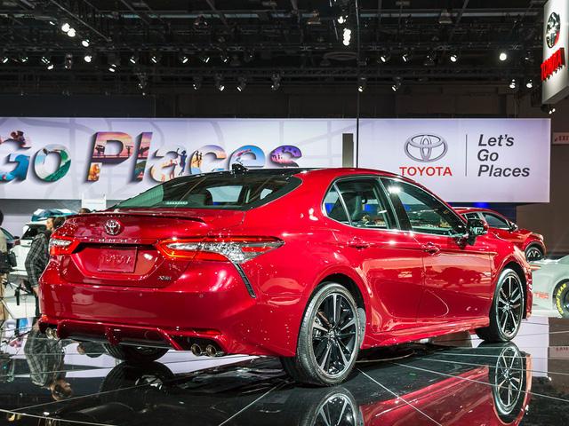 Đây là hình ảnh xem trước của Toyota Camry 2018 cho châu Á - Ảnh 8.