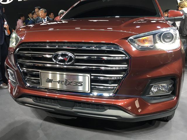 Hyundai ix35 2017 hiện nguyên hình, cạnh tranh Honda CR-V - Ảnh 3.