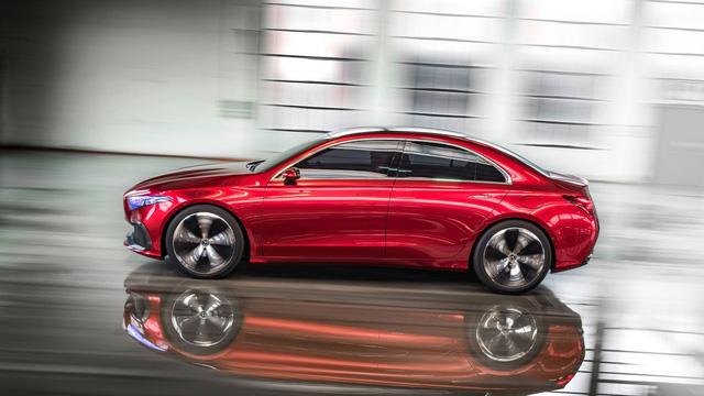Xem trước thiết kế của xe sang giá mềm Mercedes-Benz A-Class Sedan - Ảnh 7.