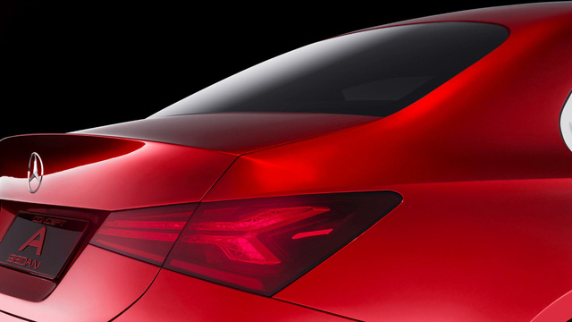 Xem trước thiết kế của xe sang giá mềm Mercedes-Benz A-Class Sedan - Ảnh 5.