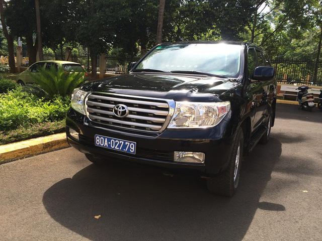 Đắk Lắk: Ngân hàng tặng Land Cruiser V8 đưa đón Bí thư Tỉnh ủy - Ảnh 1.