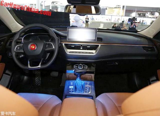 Cận cảnh Hồng Kỳ H5 - phiên bản sang hơn của Mazda6 - Ảnh 7.