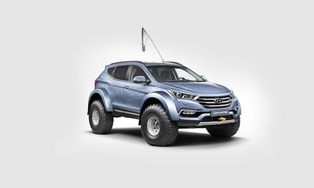 Đây là chiếc Hyundai Santa Fe đầu tiên vượt qua châu Nam Cực - Ảnh 2.