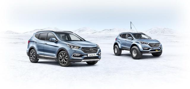 Đây là chiếc Hyundai Santa Fe đầu tiên vượt qua châu Nam Cực - Ảnh 6.