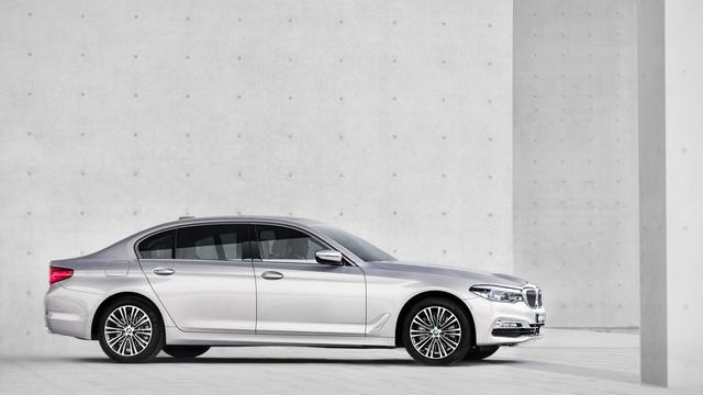 Chi tiết xe sang khiến nhiều người phát thèm BMW 5-Series Li 2017 - Ảnh 3.