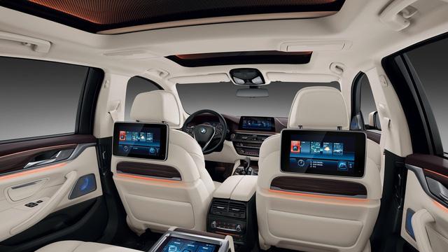 Chi tiết xe sang khiến nhiều người phát thèm BMW 5-Series Li 2017 - Ảnh 12.