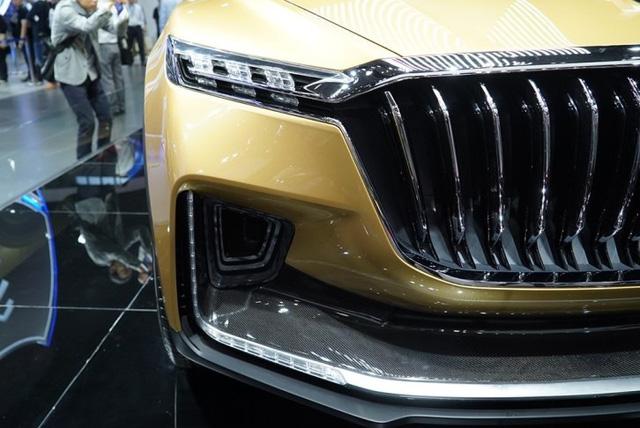 Hồng Kỳ ra mắt xe SUV mới với thiết kế táo bạo - Ảnh 4.
