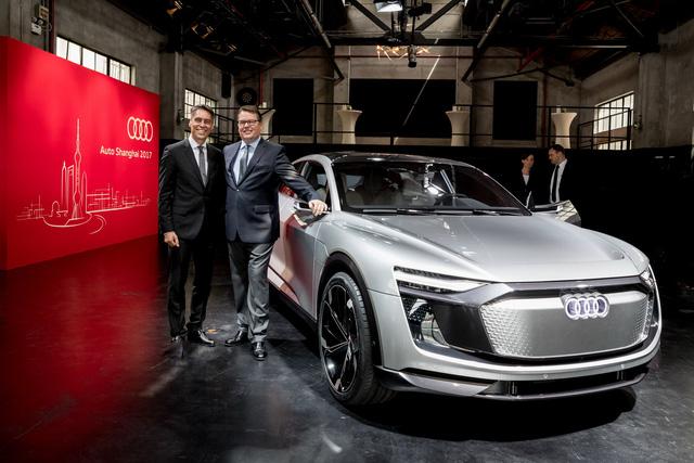 Audi E-Tron Sportback - Đối thủ mới của SUV hạng sang BMW X6 - Ảnh 1.