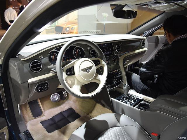 Xe siêu sang Bentley Mulsanne phiên bản vàng ra mắt nhà giàu Trung Quốc - Ảnh 5.