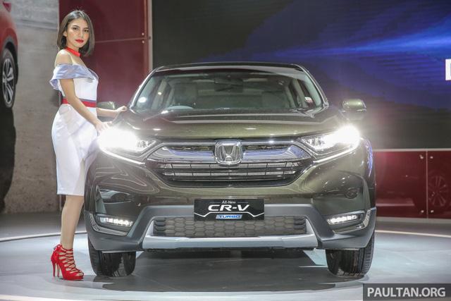 Honda CR-V 2017 phiên bản 5 và 7 chỗ trình làng tại Đông Nam Á với giá mềm hơn - Ảnh 1.