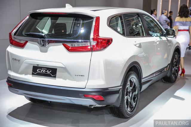 Honda CR-V 2017 phiên bản 5 và 7 chỗ trình làng tại Đông Nam Á với giá mềm hơn - Ảnh 3.