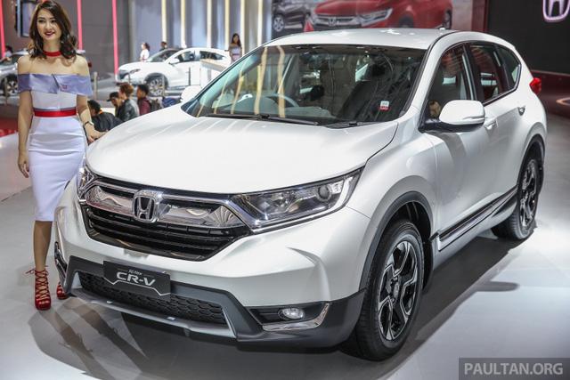 Honda CR-V 2017 phiên bản 5 và 7 chỗ trình làng tại Đông Nam Á với giá mềm hơn - Ảnh 18.