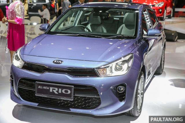 Kia Rio Hatchback 2017 cập bến Đông Nam Á với trang bị nghèo nàn - Ảnh 1.