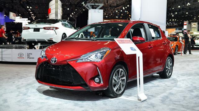 Toyota Yaris 2018 tăng giá nhẹ, từ 15.635 USD - Ảnh 1.