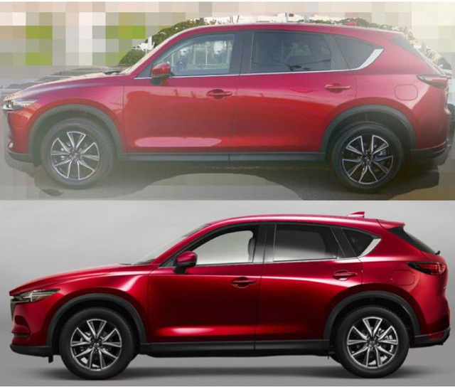 Xuất hiện hình ảnh được cho là Mazda CX-8, thiết kế na ná CX-5 - Ảnh 1.