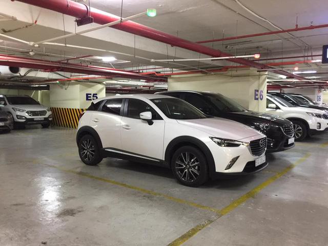 Crossover hạt tiêu Mazda CX-3 đầu tiên ra biển số tại Việt Nam - Ảnh 3.