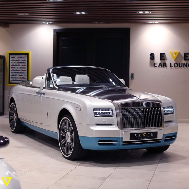 Cận cảnh chiếc Rolls-Royce Phantom Drophead Coupe ra lò cuối cùng - Ảnh 1.