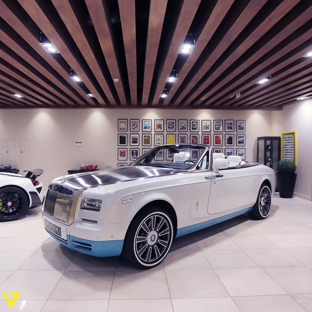 Cận cảnh chiếc Rolls-Royce Phantom Drophead Coupe ra lò cuối cùng - Ảnh 4.
