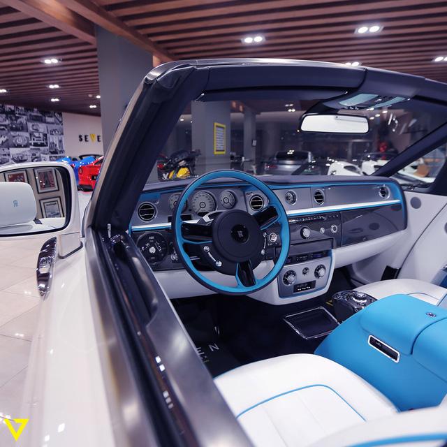 Cận cảnh chiếc Rolls-Royce Phantom Drophead Coupe ra lò cuối cùng - Ảnh 9.