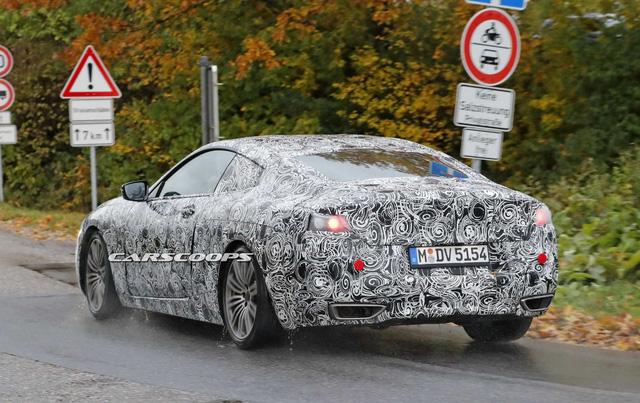 BMW 8-Series 2018 rục rịch ra mắt, cạnh tranh Mercedes-Benz S-Class Coupe - Ảnh 4.