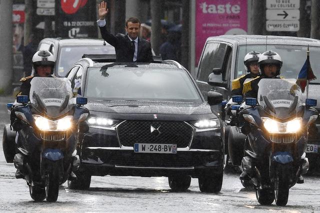 Khám phá chiếc SUV mở mui đặc biệt của tân Tổng thống Pháp Emmanuel Macron - Ảnh 9.