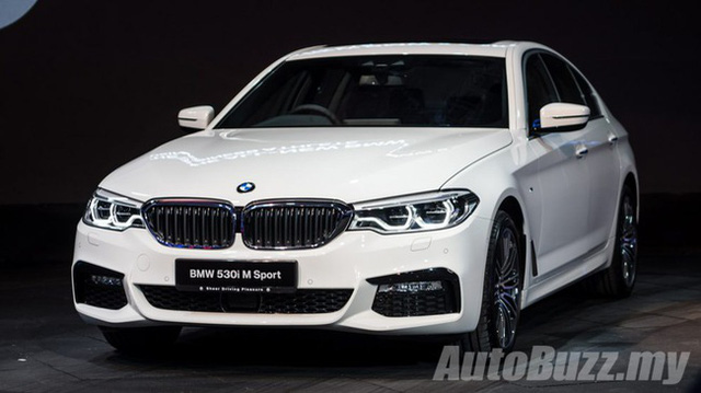 BMW 5-Series 2017 là một trong những mẫu xe an toàn nhất hiện nay - Ảnh 2.