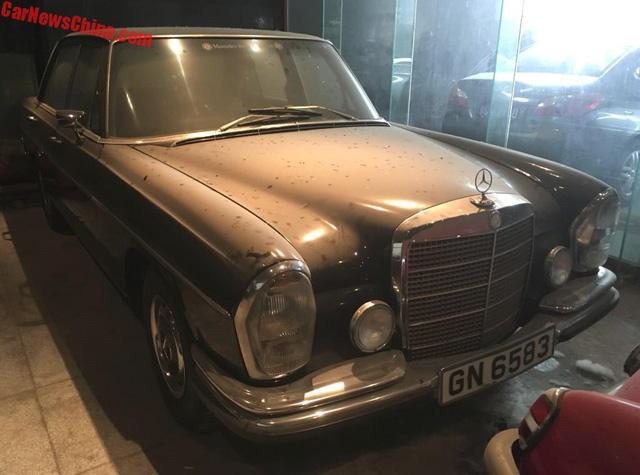 Bộ sưu tập Mercedes-Benz nằm phủ bụi khiến nhiều người xót xa - Ảnh 5.